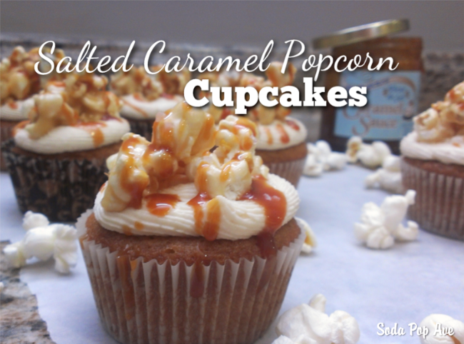 Image result for popcorn cupcake