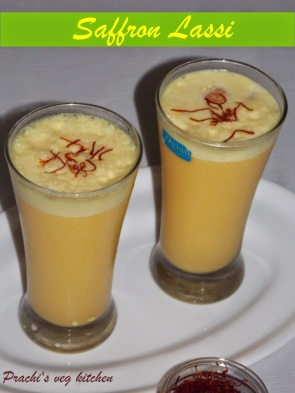 Image result for Saffron lassi