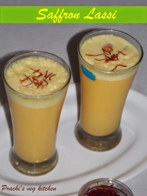 Image result for Saffron lassi