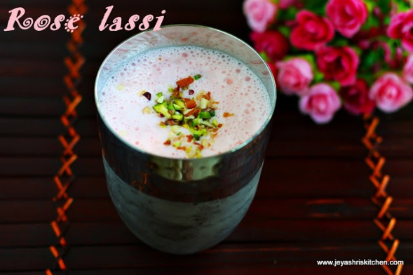 Image result for Rose lassi
